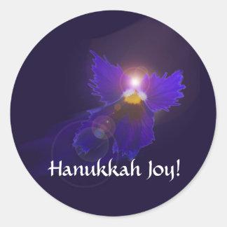 Pegatina del ángel de Jánuca