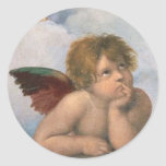 pegatina del ángel de Raphael