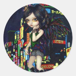 """""""Pegatina del ángel de Shinjuku"""""""