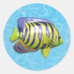 Pegatina del Angelfish