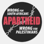 Pegatina del apartheid