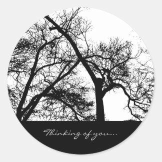 Pegatina del árbol