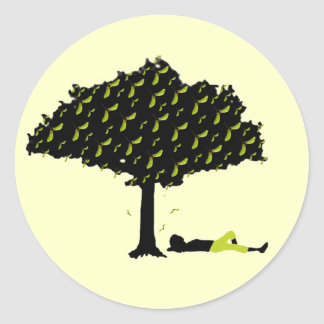 Pegatina del árbol de la nariz de Polly