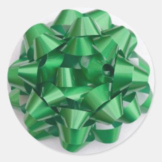 Pegatina del arco en verde