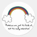 pegatina del arco iris