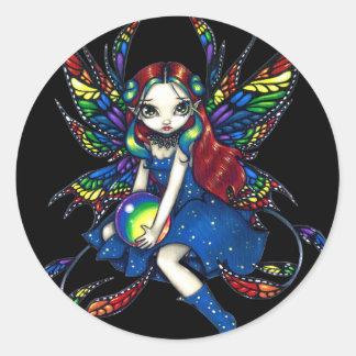 "Pegatina del ""arco iris de medianoche"""