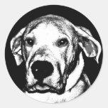 Pegatina del argentino de Dogo