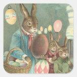 Pegatina del arte del día de fiesta de Pascua del