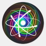 Pegatina del átomo (002) -