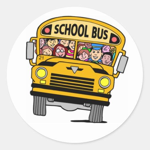 Pegatina del autobús escolar