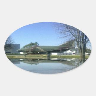 Pegatina del avión de combate (F4-Phantom)
