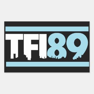 Pegatina del azul de TFI89 Carolina