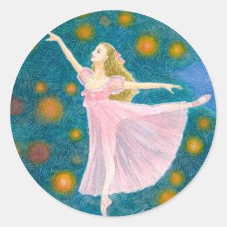 Pegatina del ballet - Clara