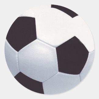 Pegatina del balón de fútbol