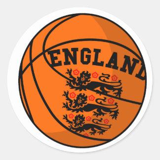Pegatina del baloncesto de los leones de