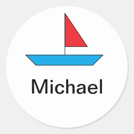 """Pegatina del """"barco"""""""