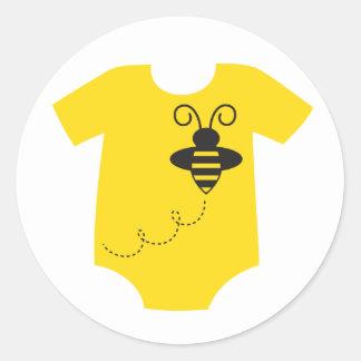 Pegatina del bebé de la abeja