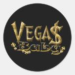 Pegatina del bebé de Vegas