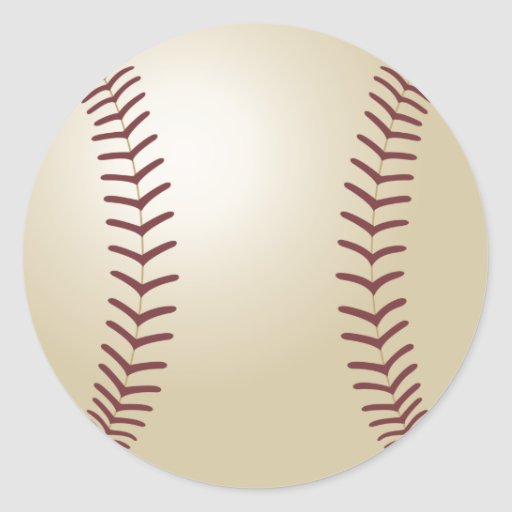 Pegatina del béisbol