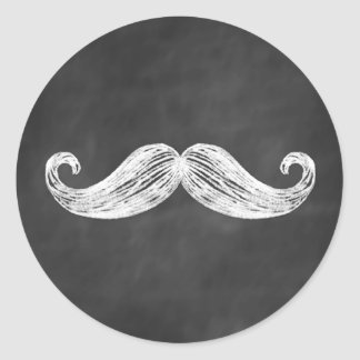 Pegatina del bigote