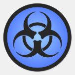Pegatina del Biohazard