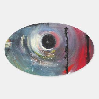 pegatina del blackhole (scifi del inconformista)