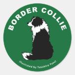Pegatina del border collie