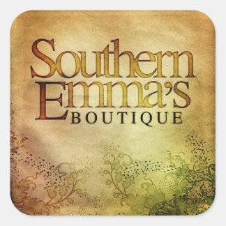 Pegatina del boutique de Emma meridional