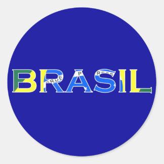 """Pegatina del """"Brasil"""""""
