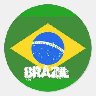 Pegatina del Brasil