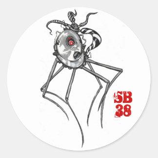 pegatina del bugbot