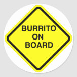 Pegatina del Burrito