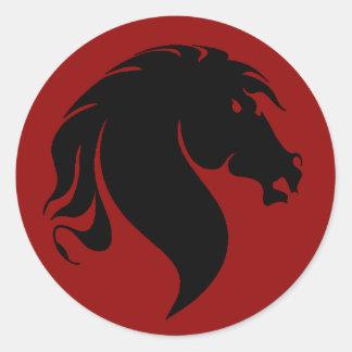 Pegatina del caballo