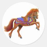 Pegatina del caballo del circo