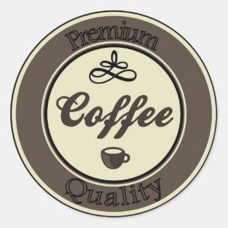 pegatina del café