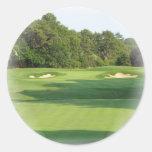 Pegatina del campo de golf