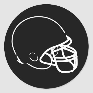 Pegatina del casco de fútbol americano