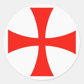 Pegatina del casquillo del alcance, cruz de