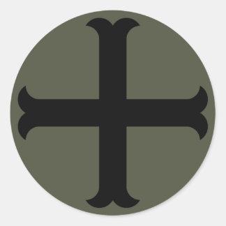 Pegatina del casquillo del alcance, cruz del