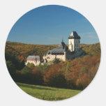 Pegatina del castillo de Karlstejn