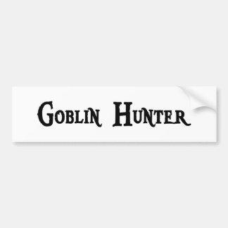 Pegatina del cazador del Goblin Pegatina Para Auto