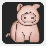 Pegatina del cerdo