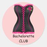 Pegatina del club de Bachelorette que casa