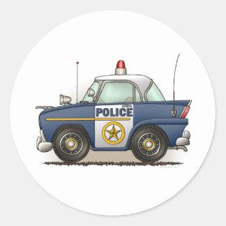 Pegatina del coche del poli de Crusier de la