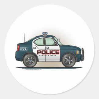 Pegatina del coche del poli del coche del