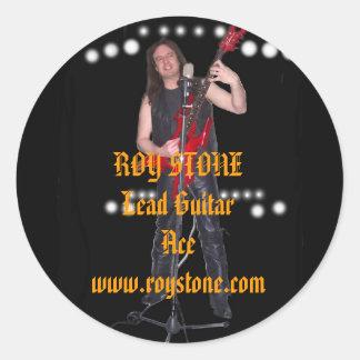 PEGATINA del COCHE, ROY STONELead GuitarAce…