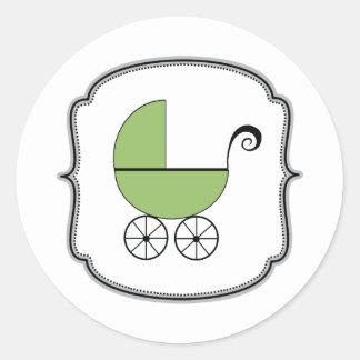 Pegatina del cochecillo de bebé