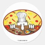 Pegatina del cocinero de KK