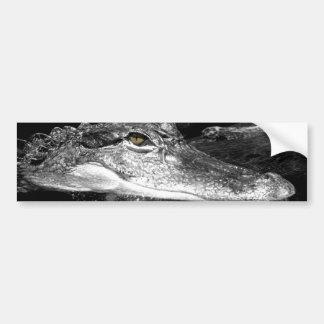 Pegatina del cocodrilo etiqueta de parachoque