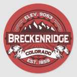 Pegatina del color de Breckenridge
